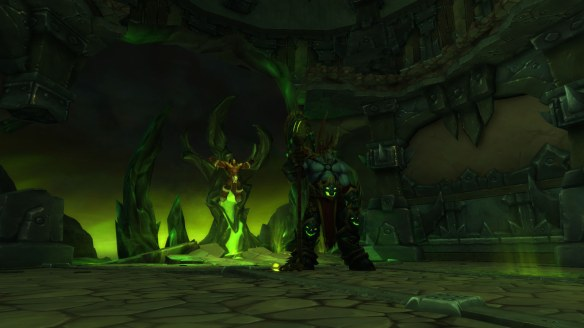 Hellfire Citadel boss Fel Lord Zakuun in World of Warcraft: Warlords of Draenor