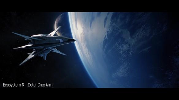 A cutscene in Grey Goo