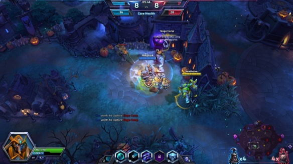 Playing as Tassadar on Towers of Doom in Heroes of the Storm