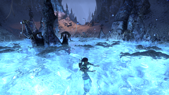 A pit of corpses in Coldharbour in Elder Scrolls Online