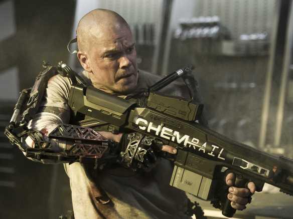 Matt Damon as Max Da Costa in Elysium