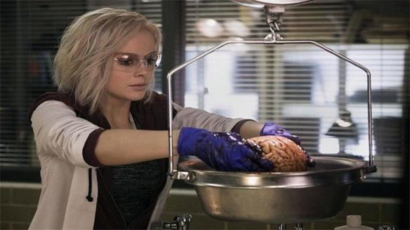 Liv prepares a meal in iZombie
