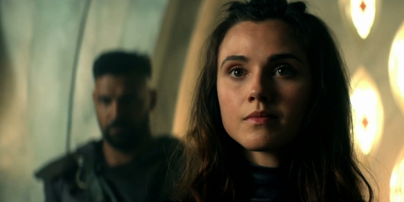 Poppy Drayton as Amberle Elessedil in The Shannara Chronicles