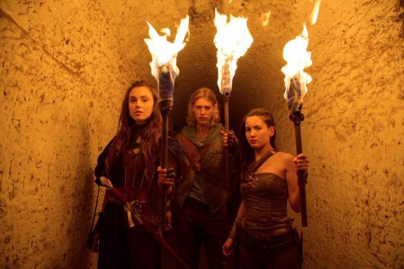 Amberle, Wil, and Eretria in The Shannara Chronicles