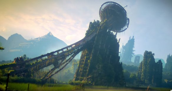 The ruins of the old world in The Shannara Chronicles