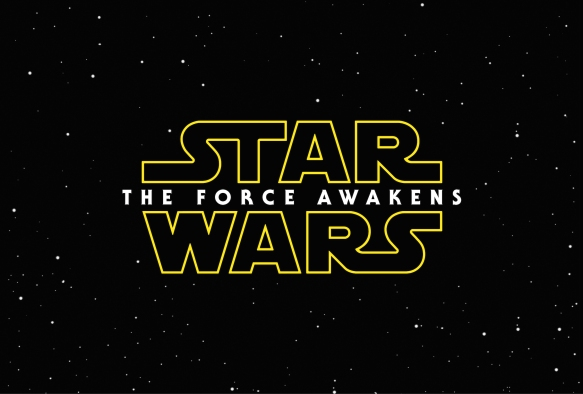 The logo for Star Wars: The Force Awakens