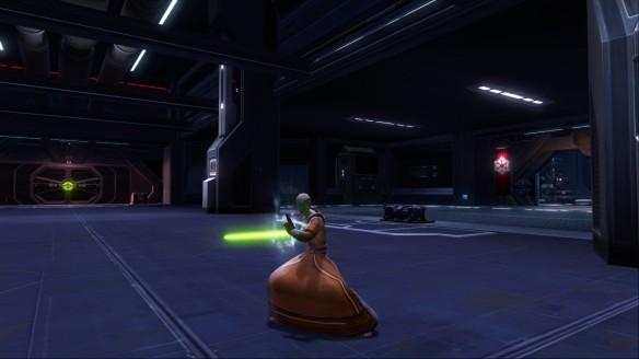 My Jedi consular in Star Wars: The Old Republic