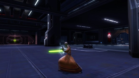 My Jedi consular in Star Wars: The Old Republic