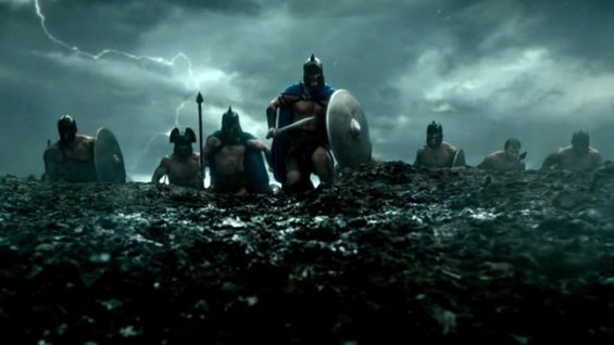 The Athenians charge in 300: Rise of an Empire