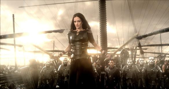 Eva Green as Queen Artemisia in 300: Rise of an Empire