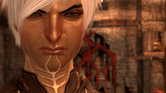 Fenris in Dragon Age II
