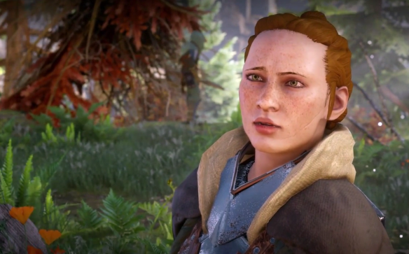Scout Harding in Dragon Age: Inquisition