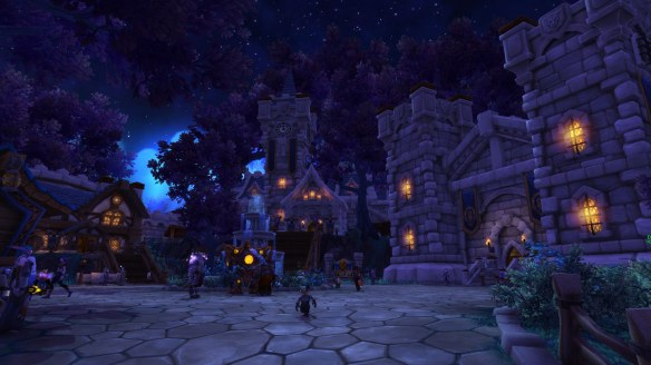 My rogue's garrison in World of Warcraft: Warlords of Draenor