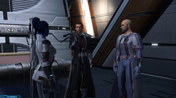 Vector Hyllus and Eckard Lokin in Star Wars: The Old Republic