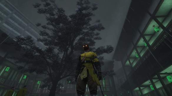 My Dragon posing in his Wu deck uniform in The Secret World
