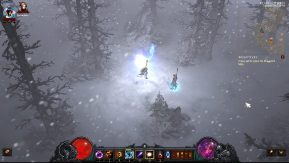 The Eternal Woods zone in Diablo III