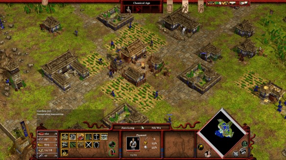 A Chinese town in Age of Mythology: Tale of the Dragon