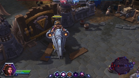My vulture mount in Heroes of the Storm