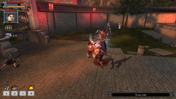 Combat in Jade Empire