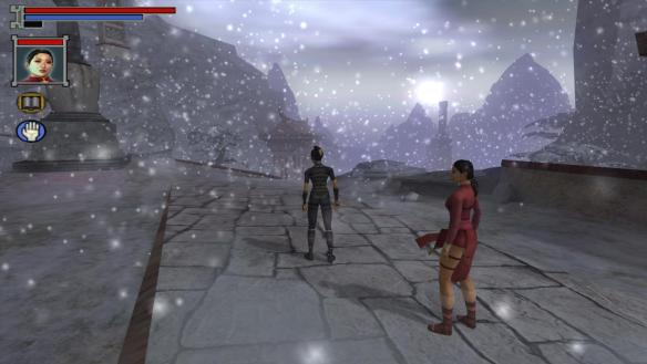 Playing as Silk Fox during a special mission in Jade Empire