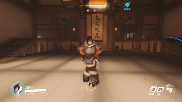 Mei being adorable in Overwatch
