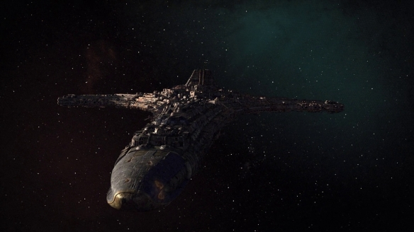 The starship Destiny in Stargate: Universe