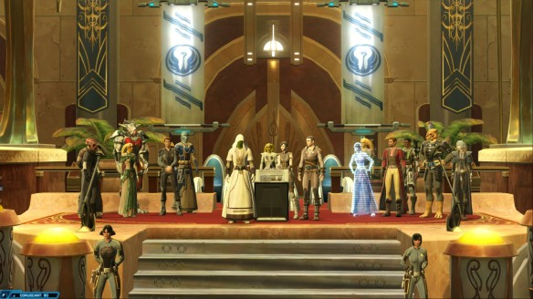 The finale of the consular storyline in Star Wars: The Old Republic
