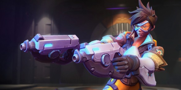 Tracer's Heroes of the Storm model