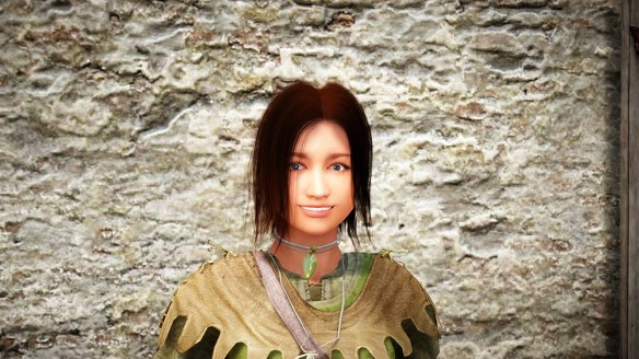 Leha, the Hero of Heart, as recreated in Black Desert Online