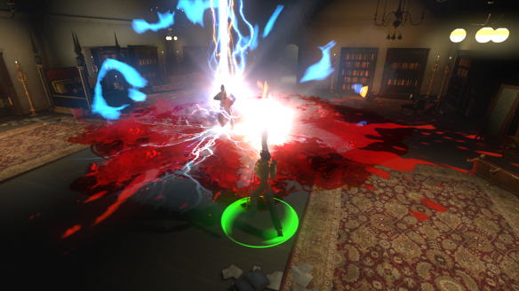 The final boss fight of The Castle in The Secret World