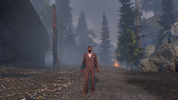 The Oxford Tweed uniform awarded for completing the launch lore in The Secret World
