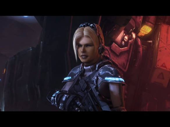 Nova in StarCraft II: Heart of the Swarm