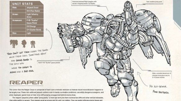 A page from the StarCraft Field Manual