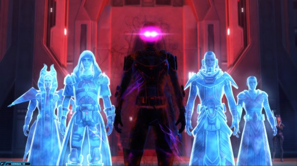 The climax of the inquisitor class story in Star Wars: The Old Republic