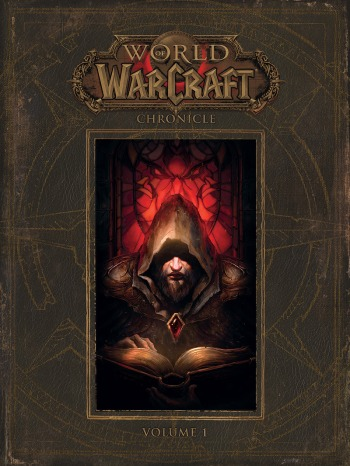 Cover art for the Warcraft Chronicle, volume one