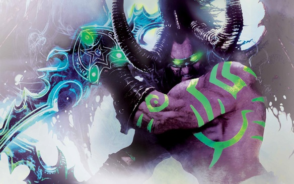Cover art for Warcraft: Illidan by William King