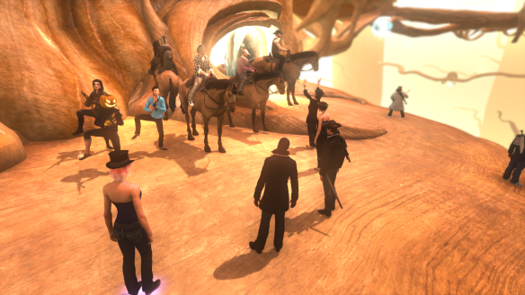 An average day in The Secret World's Agartha