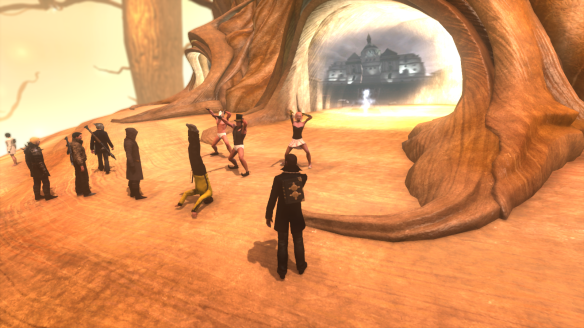 The usual strangeness in Agartha in The Secret World