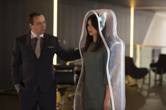 Gemma Chan as Anita in Humans