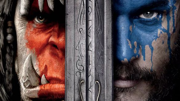 The poster for the Warcraft movie