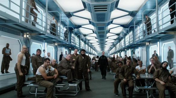 The Hyperion VIII prison in Dark Matter