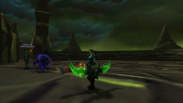 My rogue claims one of the Warglaives of Azzinoth in World of Warcraft