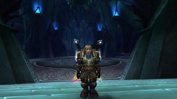 My Dwarf warrior in World of Warcraft