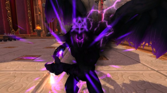 The deeply missed warlock metamorphasis form in World of Warcraft