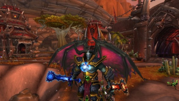 My demon hunter transformed into a dreadlord as part of World of Warcraft: Legion's pre-expansion events