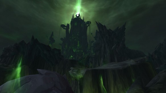 The Tomb of Sargeras on the Broken Shore in World of Warcraft