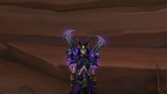 My demon hunter in World of Warcraft: Legion