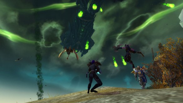 The demons invade Westfall in World of Warcraft