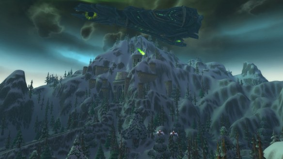 The Legion attacks Ironforge in World of Warcraft
