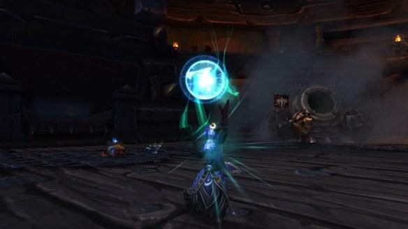 My monk learns mistweaving in World of Warcraft
